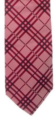 Burberry Jacquard Nova Check Silk Tie
