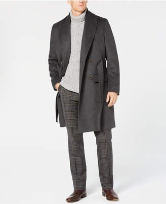 Tasso Elba Men's Shawl-Collar Belted Coat