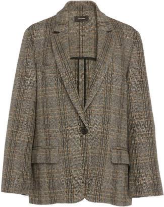 Etoile Isabel Marant Charly Checked Wool Blazer