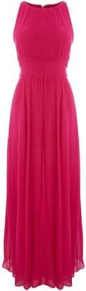 Lauren Ralph Lauren Sleeveless pleated gown