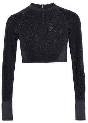 Tart Collections Paneled Mesh Rash Guard