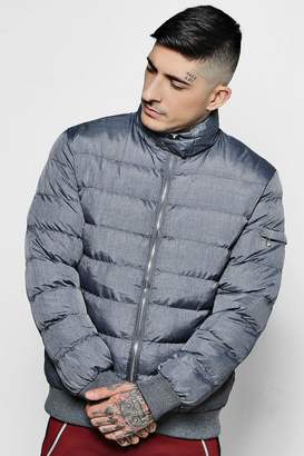 boohoo Puffer Jacket With Hood