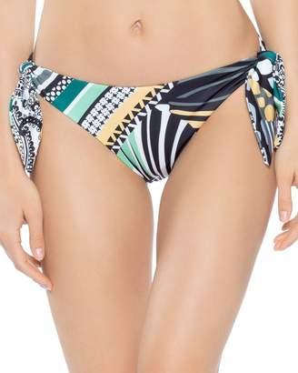 7d8c7d76a4 Becca by Rebecca Virtue Handkerchief Reversible Side Tie Bikini Bottom