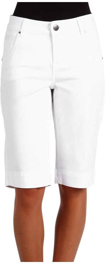 Jag Jeans Aria Bermuda (White) - Apparel