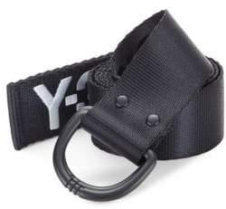 Y-3 Logo Canvas Belt
