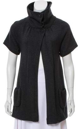 Alice + Olivia Short Sleeve Knit Cardigan