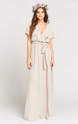 Show Me Your Mumu Audrey Maxi Dress ~ Show Me the Ring Crisp