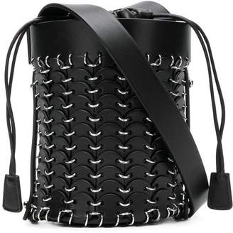 Paco Rabanne mini-bucket tote bag