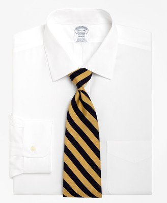 Brooks Brothers Regent Fitted Dress Shirt, Non-Iron Spread Collar
