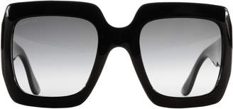 Gucci Oversized Square Sunglasses $360 thestylecure.com