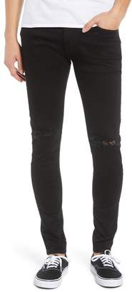REPRESENT Destroyer Ripped Slim Fit Jeans