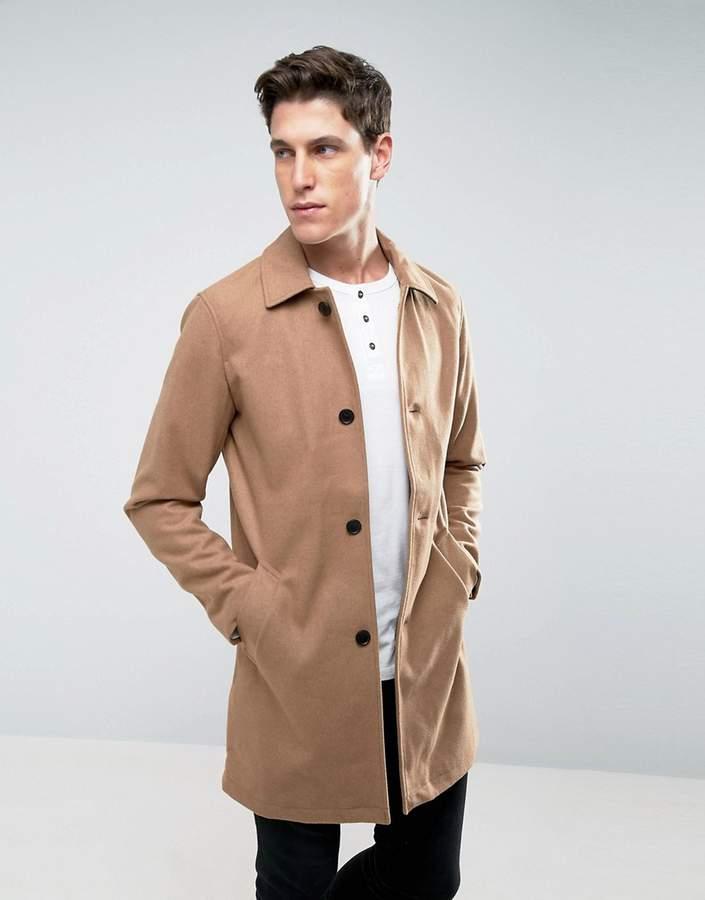 Jack And JonesJack & Jones Wool Overcoat
