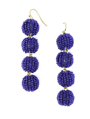 Crispin Ball Drop Earrings $34 thestylecure.com