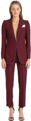Viscose Crepe Smoking Suit $578 thestylecure.com