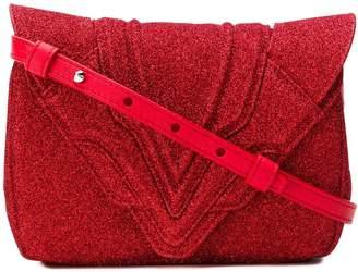 Elena Ghisellini glittered mini bag