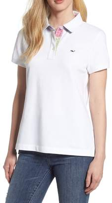 Vineyard Vines Heritage Patchwork Polo Shirt