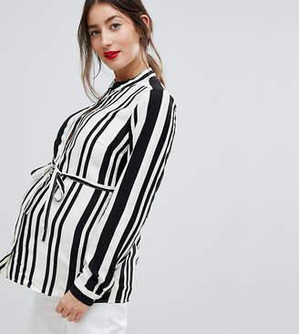Mama Licious Mama.licious Mamalicious Stripe Shirt