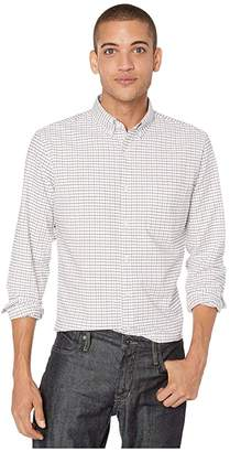 J.Crew Slim American Pima Cotton Oxford Shirt with Mechanical Stretch in Tattersall