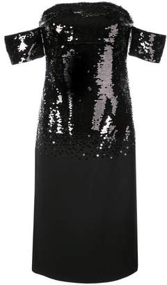 Sachin + Babi Galiana sequin fitted dress