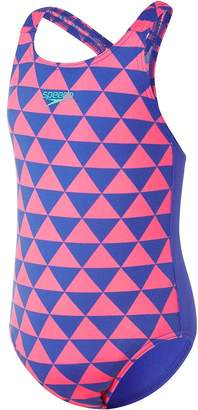 Speedo Toddler Girls Bunting Medalist One Piece