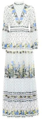 Erdem Cassandra floral silk dress