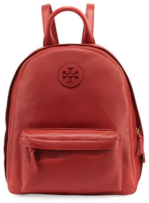 Tory Burch Zip-Around Leather Backpack, Light Redwood $395 thestylecure.com