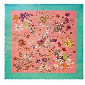 Gucci Women's Floral Shawl