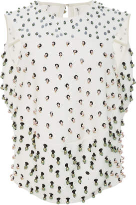 Narciso Rodriguez Embroidered Top