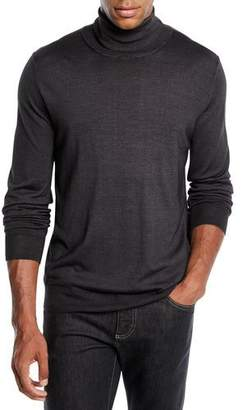 Canali Men's Wool-Silk Turtleneck Sweater