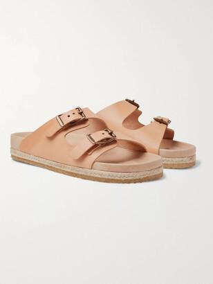 Yuketen Arizonian Leather Sandals - Men - Neutrals