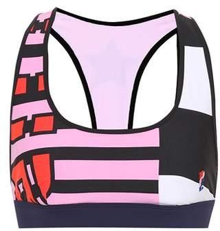 P.E Nation The Bumper printed sports bra
