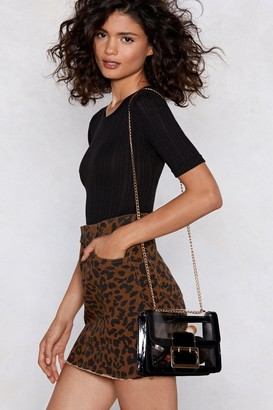 Nasty Gal WANT It's Clear to See Shoulder Bag
