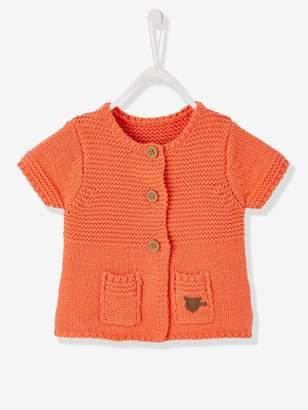 Vertbaudet Baby Girls' Cardigan with Diversified Stitching