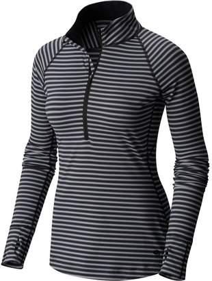 Mountain Hardwear Butterlicious Stripe 1/2-Zip Shirt - Women's