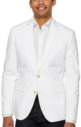 e613132581b Jf J.Ferrar 360 Everyday Stretch White Slim Fit Sport Coat