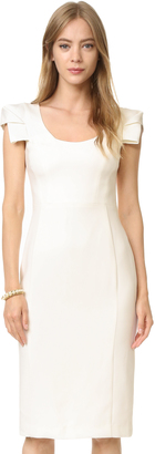 Black Halo Amelie Sheath Dress $345 thestylecure.com