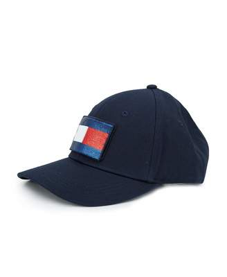 ca766a95 Tommy Hilfiger Accessories Glitter Flag Cap Colour: NAVY, Size: One Si