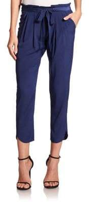 Ramy Brook Allyn Silk-Blend Pants