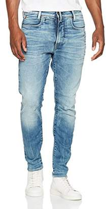 G Star Men's D-Staq 3D Super Slim Jeans, Blue (Medium Aged 071), W34/L34