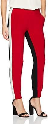 Norma Kamali Women's Side Stripe Jog Pant Combo