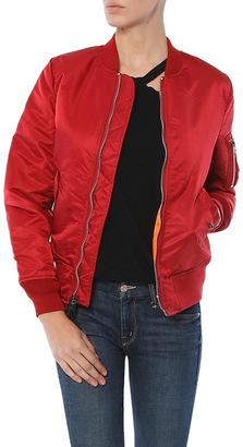 Alpha Industries MA-1 Flight Jacket $150 thestylecure.com