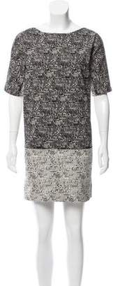 Gerard Darel Printed Mini Dress