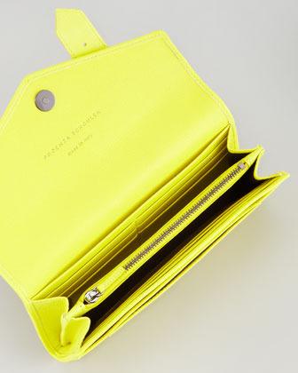 Proenza Schouler PS1 Continental Wallet, Sunshine