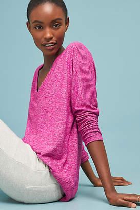COA Brushed Fleece V-Neck Pullover