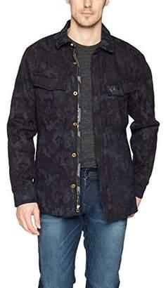 True Religion Men's Jaquard Print Field Jacket