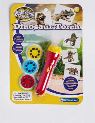 Marks and Spencer Dinosaur Projector Torch