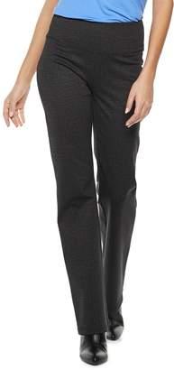 Apt. 9 Women's Tummy Control Ponte Bootcut Pants