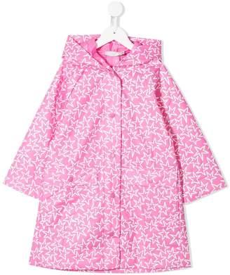 Stella McCartney Stars print raincoat