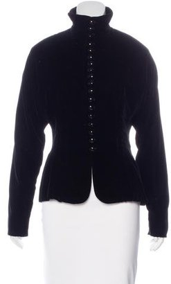 Ralph Lauren Velvet Fitted Jacket