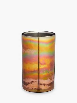 Kitchen Craft BarCraft Double-Walled Wine Bottle Cooler, Copper